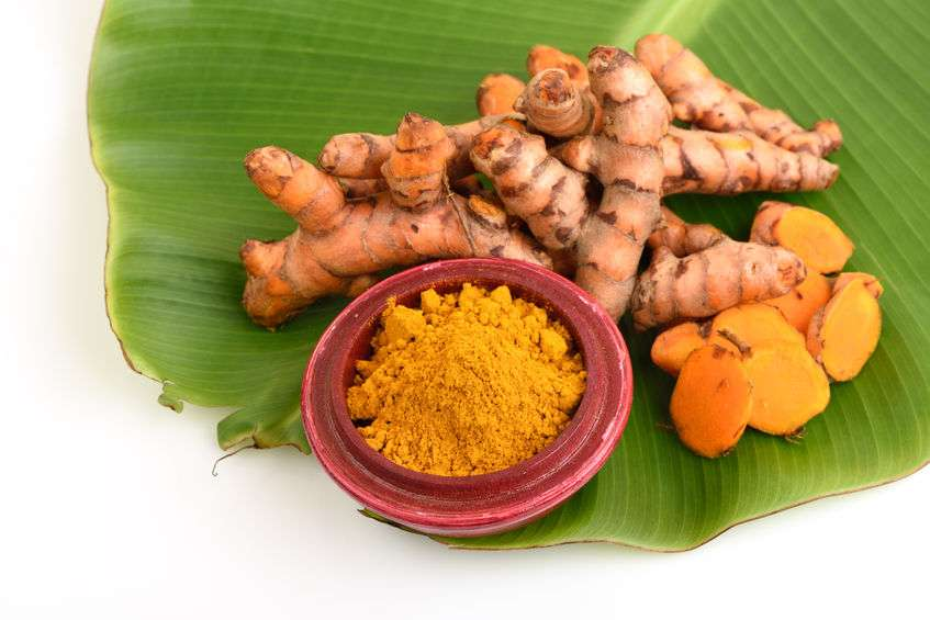 Naturally Botanicals - Turmeric root and powder - Curcuma longa