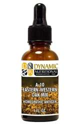 Naturally Botanicals | by Dynamic Nutritional Associates (DNA Labs) | A-10 Eastern/Western Oak Mix Homeopathic