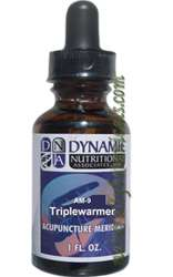Naturally Botanicals | by Dynamic Nutritional Associates (DNA Labs) | AM-9 Triplewarmer Acupuncture Meridian Homeopathic