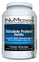 Naturally Botanicals | NuMedica Nutraceuticals | Absolute Protein-Vanilla - 39 svgs