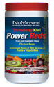 Naturally Botanicals | NuMedica Nutraceuticals | Power Reds® Strawberry Kiwi - 30 servings | Reds Phytonutrient Powder Drink Mix