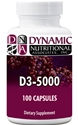 Naturally Botanicals | Dynamic Nutritional Associates (DNA Labs) | D3-5000 | Vitamin D Supplement for Immune and Circulatory Health