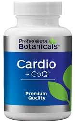 Naturally Botanicals | Professional Botanicals | Cardiotone plus CoQ10 | Herbal Heart Health Support Supplement