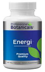 Naturally Botanicals | Professional Botanicals | Energi | Herbal Energy Support Supplement