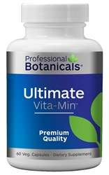 Naturally Botanicals | Professional Botanicals | Ultimate Vita/Min | Daily Multi-Vitamin and Mineral Supplement