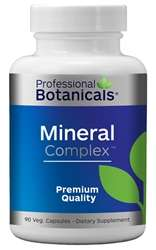 Naturally Botanicals | Professional Botanicals | Mineral Complex | Essential Minerals Support Supplement