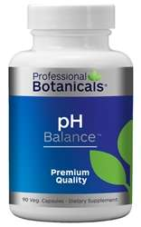 Naturally Botanicals | Professional Botanicals | pH Balance | Herbal & Mineral Support Supplement