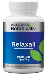 Naturally Botanicals | Professional Botanicals | RelaxAll | Relaxation Support Supplement