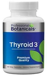 Naturally Botanicals | Professional Botanicals | Thyroid 3 | Thyroid Health Support Supplement