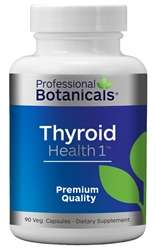 Naturally Botanicals | Professional Botanicals | Thyroid Health One | Herbal Support Supplement