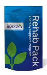 Naturally Botanicals | Professional Botanicals | Rehab Pack |  Nutritional & Herbal Rehab Supplement Support Pack