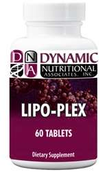 Naturally Botanicals | Dynamic Nutritional Associates (DNA Labs) | Lipo Plex | Gallbladder and Liver Support Supplement