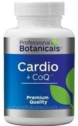 Naturally Botanicals | Professional Botanicals | Cardio + CoQ  | Heart and Cardiovascular Support Supplement