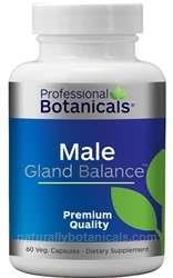 Naturally Botanicals | Professional Botanicals | Male Gland Balance | Male Support Supplement