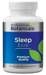 Naturally Botanicals | Professional Botanicals | Sleep Eaze | Herbal Sleep Support Supplement