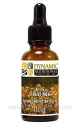 Naturally Botanicals | by Dynamic Nutritional Associates (DNA Labs) | A-15 Fruit Mix Homeopathic
