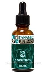 Naturally Botanicals | T-22 Oak 6x, 8x, 30x Dynamic Nutritional Associates (DNA Labs) Flower Essences Homeopathic Formula