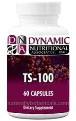 Naturally Botanicals | Dynamic Nutritional Associates (DNA Labs) | TS-100 | Dietary Support for a Healthy Thyroid