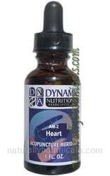 Naturally Botanicals | by Dynamic Nutritional Associates (DNA Labs) | AM-2 Heart Acupuncture Meridian Homeopathic
