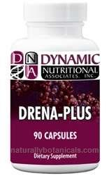 Naturally Botanicals | Dynamic Nutritional Associates (DNA Labs) | Drena Plus | Adrenal Support Supplement