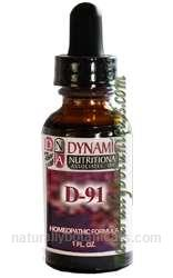 Naturally Botanicals | by Dynamic Nutritional Associates (DNA Labs) | D-91 Epbarrex 2 West German Homeopathic Formula