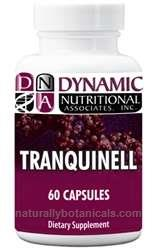 Naturally Botanicals | Dynamic Nutritional Associates (DNA Labs) | Tranquinell | Vitamin, Mineral & Herbal Relaxation Formula