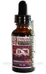 Naturally Botanicals | by Dynamic Nutritional Associates (DNA Labs) | D-78 Septosting West German Homeopathic Formula