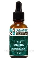 by Dynamic Nutritional Associates (DNA Labs) | T-18 IMPATIENS 6x, 8x, 30x Flower Essences Homeopathic Formula
