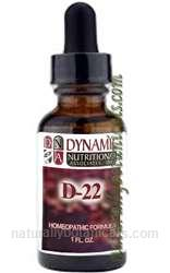 Naturally Botanicals | by Dynamic Nutritional Associates (DNA Labs) | D-22 Cardin Homeopathic Formula