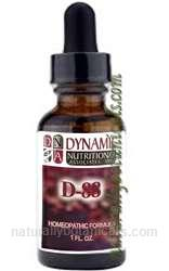 Naturally Botanicals | by Dynamic Nutritional Associates (DNA Labs) | D-88 Premen Homeopathic Formula
