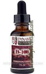 Naturally Botanicals | by Dynamic Nutritional Associates (DNA Labs) | D-100 Fucus Ves West German Homeopathic Formula