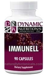 Naturally Botanicals | Dynamic Nutritional Associates (DNA Labs) | Immunell | Support Supplement for Immune System Defense