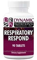 Naturally Botanicals | Dynamic Nutritional Associates (DNA Labs) | Respiratory Respond | Herbal & Homeopathic Formula Supporting Lung & Respiratory Health