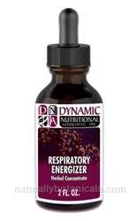 Naturally Botanicals | Dynamic Nutritional Associates (DNA Labs) | Respiratory Energizer | Herbal Supplement Supporting Lung & Respiratory Health