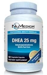 Naturally Botanicals | NuMedica Nutraceuticals | DHEA 25 mg - 90c | Anti-Aging Support Formula*